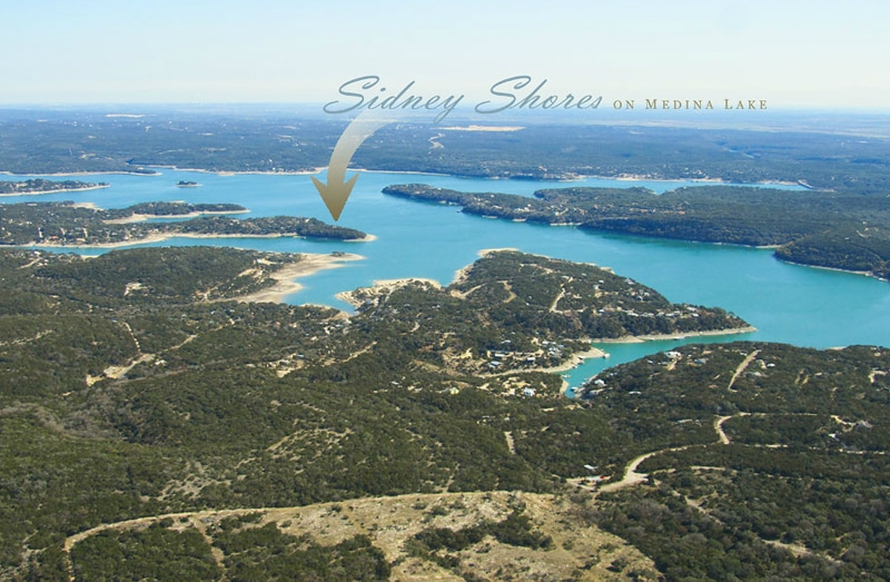 Lakehills Texas Waterfront Lots
