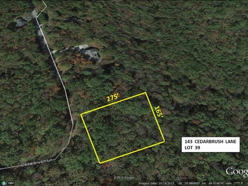 143 Cedarbrush Ln,Fairfield Glade,Tennessee,United States 38558,Vacant Lot,Cedarbrush Ln,1233
