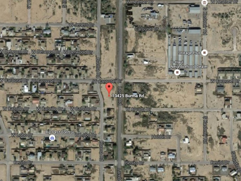 13425 Burma Rd,Arizona City,Pinal,Arizona,United States 85123,Vacant Lot,Burma Rd,1246