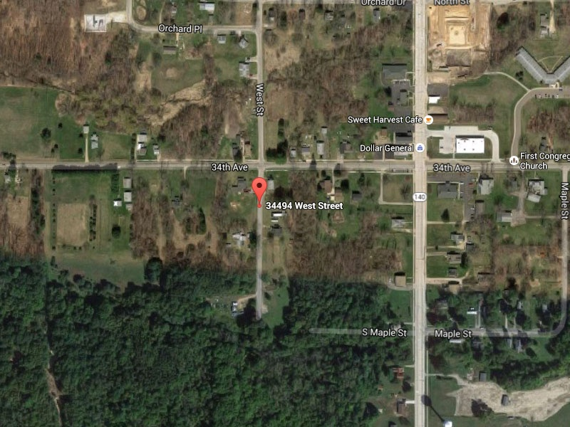 34494 West St.,Covert,Michigan,United States 49043,Vacant Lot,West St.,1300