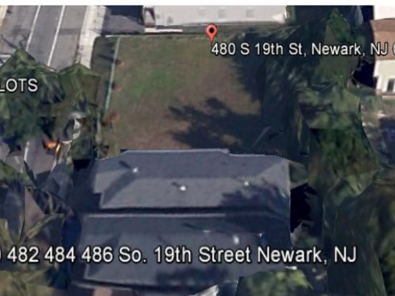 480 S. 19th St.,Newark,New Jersey,United States 07103,Vacant Lot,S. 19th St.,1305