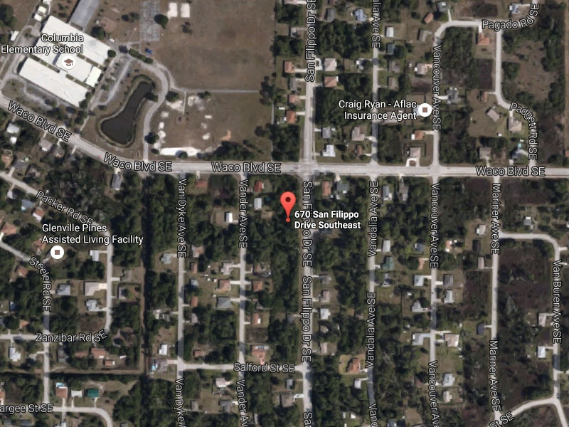 670 San Felippo Dr. SE,Palm Bay,Florida,United States 32909,Vacant Lot,San Felippo Dr. SE,1317