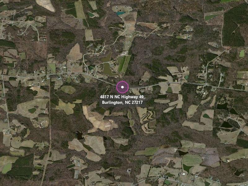 4817 North Hwy 49,Burlington,North Carolina,United States 27217,Acreage,North Hwy 49,1319