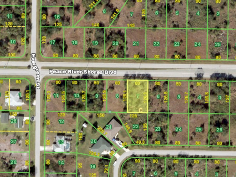 29435 Peace River Shores Blvd,Punta Gorda,Charlotte,Florida,United States 33982,Vacant Lot,Peace River Shores Blvd,1362