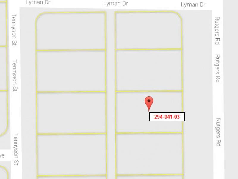 Rutgers Rd,California City,Kern County,California,United States 93505,Vacant Lot,Rutgers Rd,1406