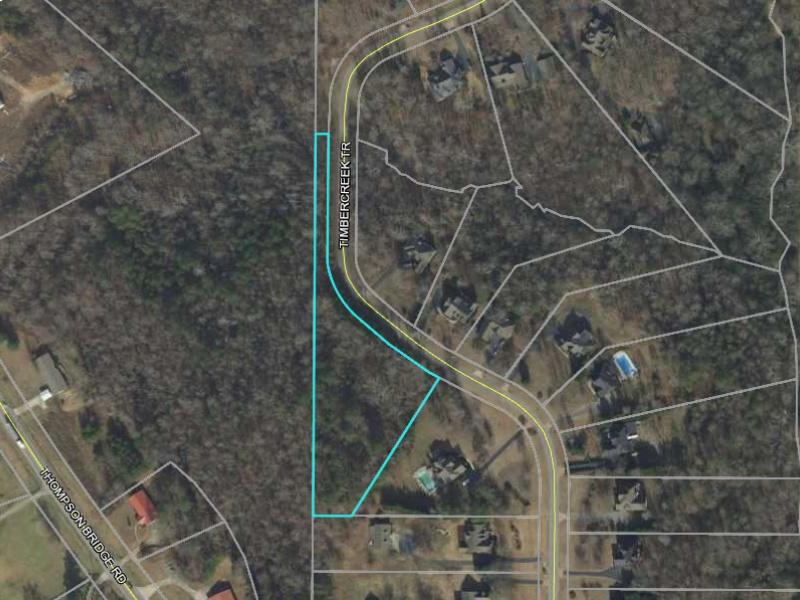 6335 Timbercreek Trail,Murrayville,Hall County,Georgia,United States 30564,Vacant Lot,Timbercreek Trail,1408