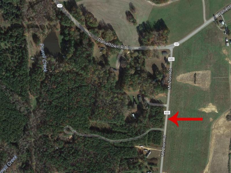 Mt Zion Rd,Danieltown,Brunswick County,Virginia,United States 23938,Acreage,Mt Zion Rd,1434