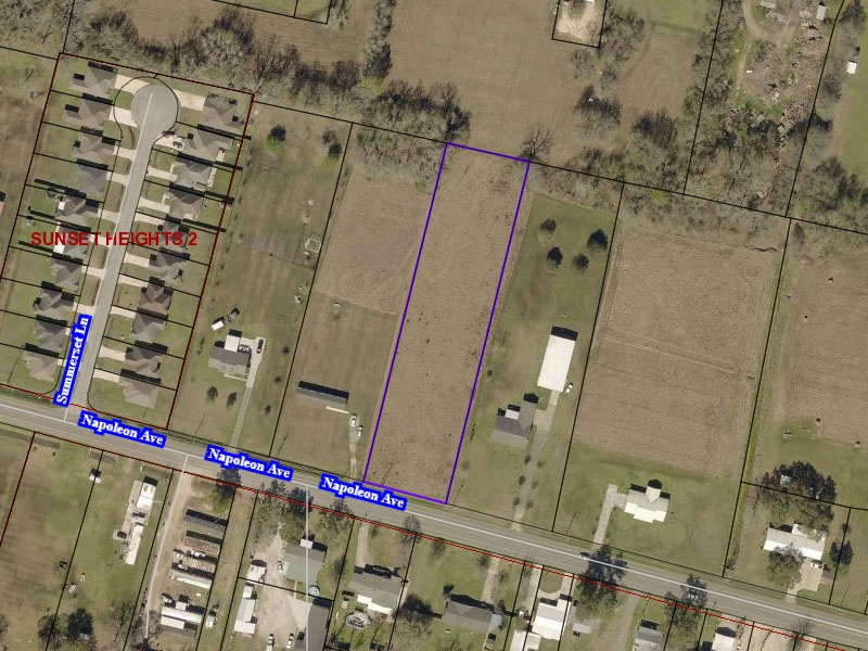 Napoleon Ave,Sunset,St. Landry Parish,Louisiana,United States 70584,Vacant Lot,Napoleon Ave,1550