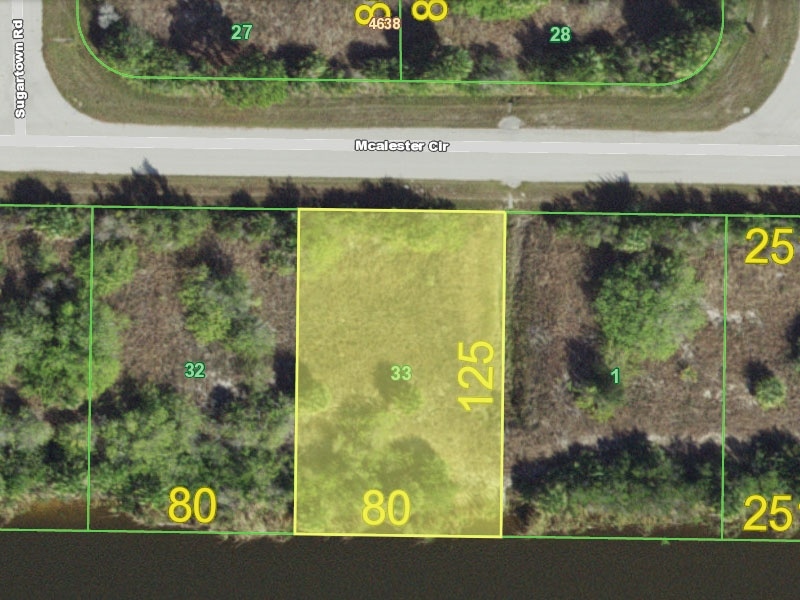 10648 McAlester Cir,Port Charlotte,Charlotte,Florida,United States 33981,Vacant Lot,McAlester Cir,1560