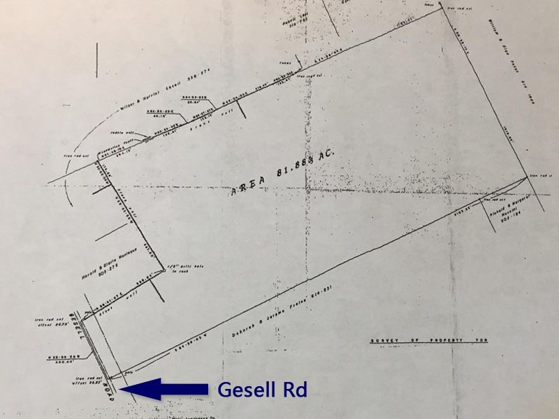 Gesell Rd,Meredith,Delaware County,New York,United States 13757,Acreage,Gesell Rd,1615