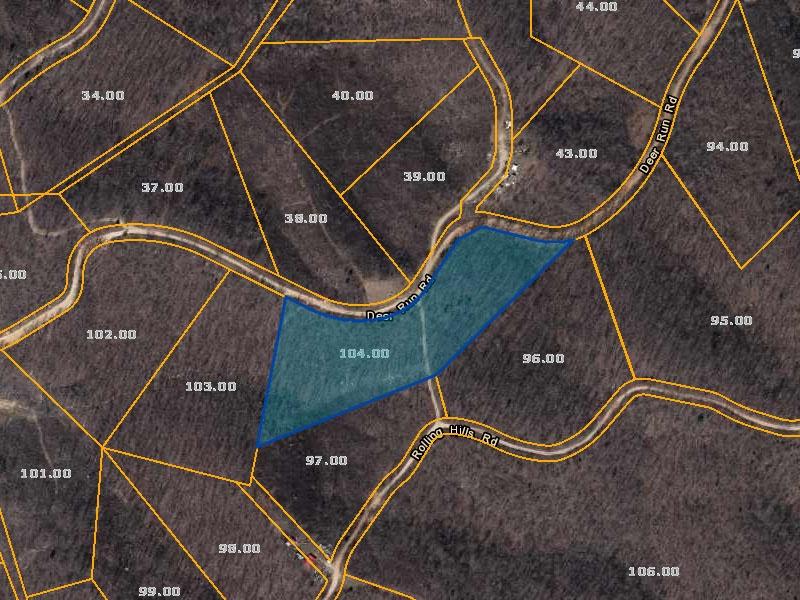 Deer Run Rd,Lobelville,Perry County,Tennessee,United States 37097,Acreage,Deer Run Rd,1620