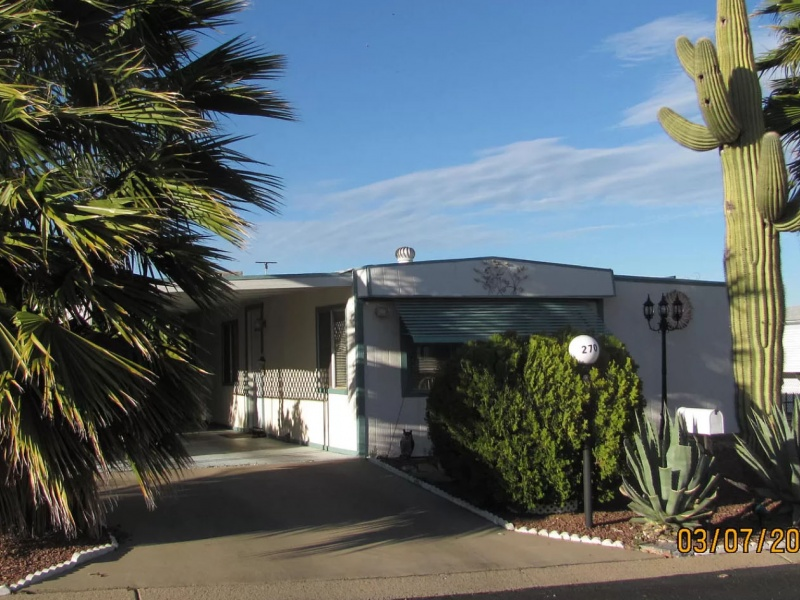 270 W Olive Dr,Green Valley,Pima County,Arizona,United States 85614,Manufactured Home,W Olive Dr,1640