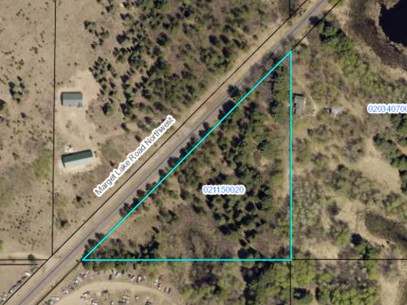 Bradford Township MN Property for Sale by Owner, Marget Rd, Marget Lake Acres, Bradford Township Lot 1, Isanti County Property