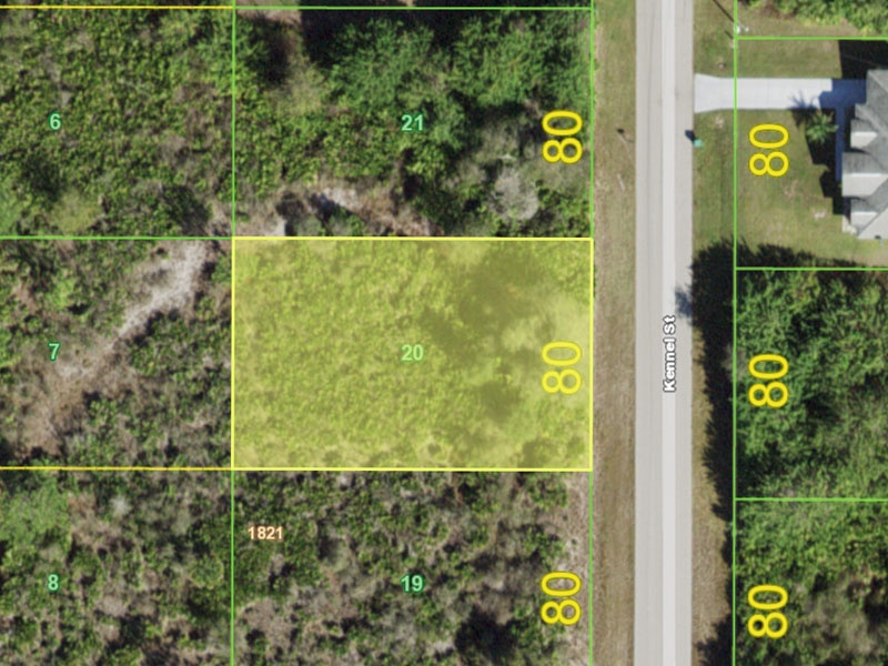 Vacant Lot for Sale in Port Charlotte Florida, Buildable lot in port charlotte fl, charlotte county property sale