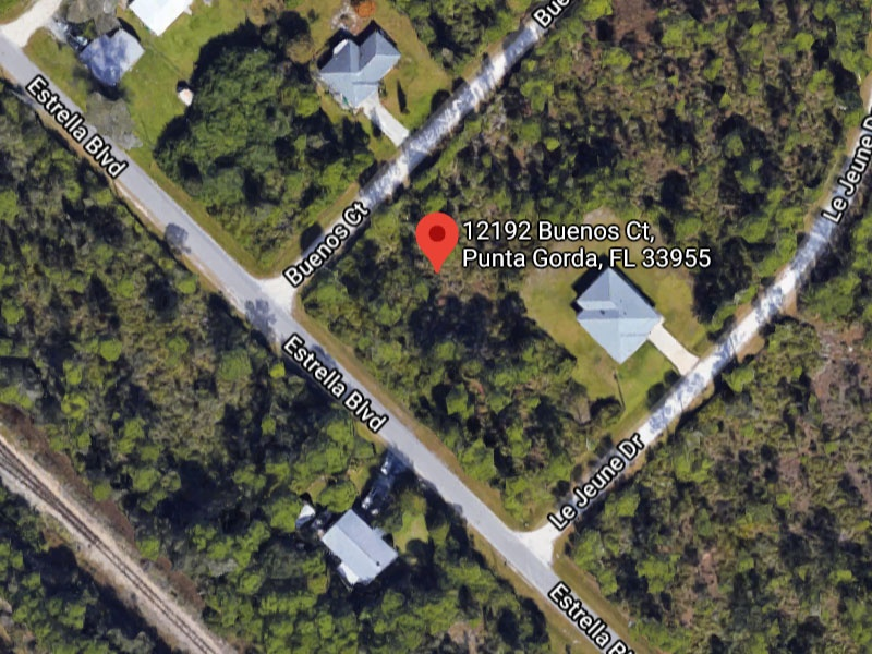 Vacant Lot for sale by owner in Punta Gorda FL. Residential Property Selling in Charlotte County Florida.